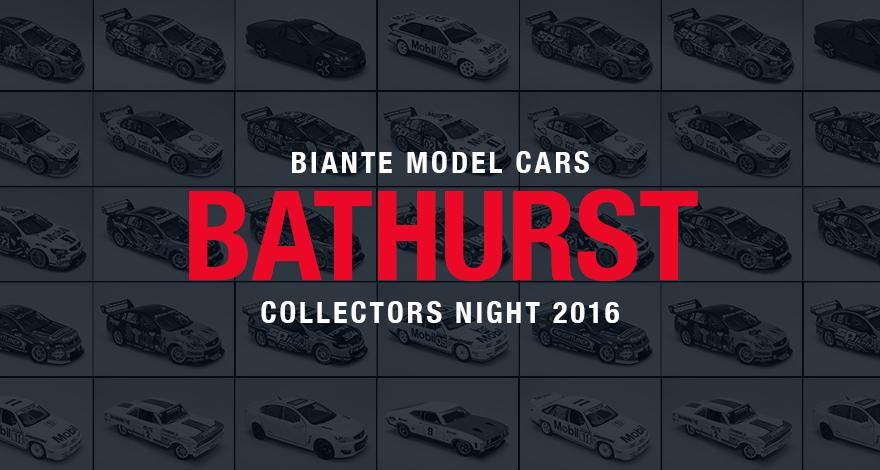 Join us at the 2016 Biante Bathurst Collectors Night