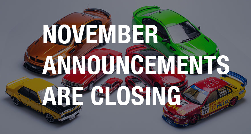 November Announcements Reminder