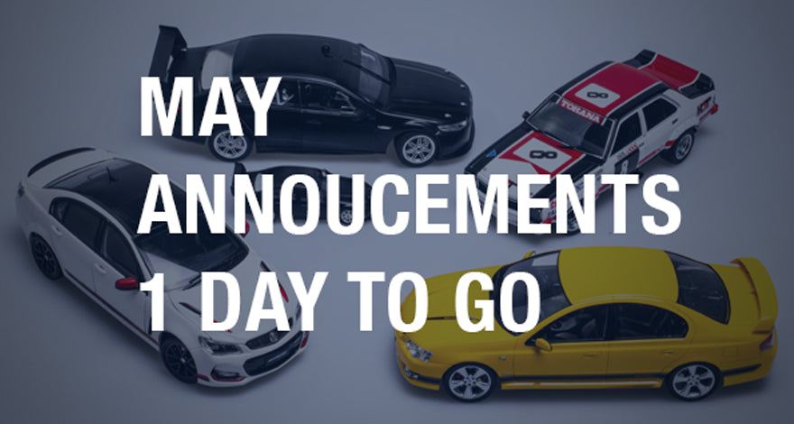 May announcements reminder