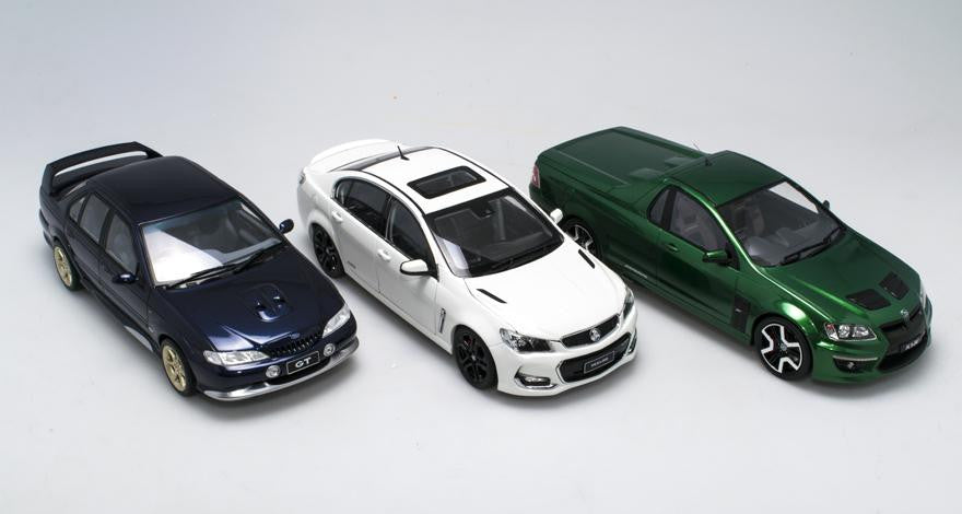 Die-cast versus Resin: The facts for the Australian market.