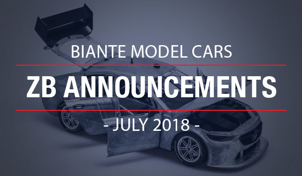 Biante New Model Announcements: 2018 Holden ZB Commodore Supercars