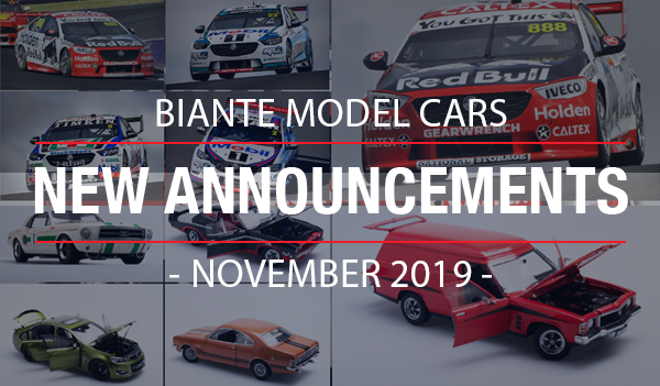 Biante New Model Announcements - November 2019
