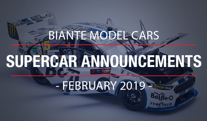 Biante New Model Announcements: Final Additions to 2018 Supercars Range