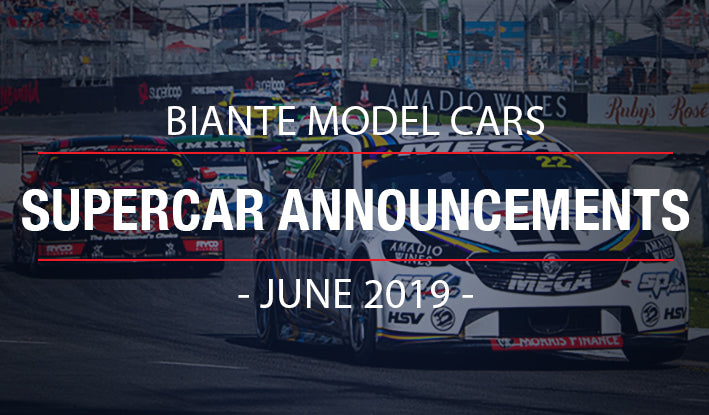 Biante New Model Announcements: 2019 Supercar Announcements