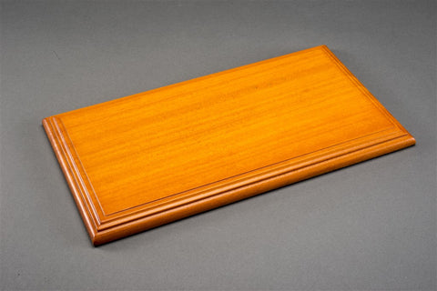 1/18 MOLSHEIM DISPLAY CASE - CHERRY COLOUR WOOD BASE (Wide Edge)