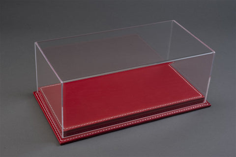 1/12 MULHOUSE DISPLAY CASE - RED LEATHER BASE