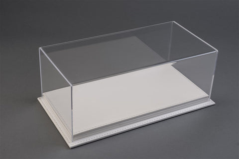 1/12 MULHOUSE DISPLAY CASE - WHITE LEATHER BASE