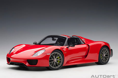 1/12 PORSCHE 918 SPYDER (Guards Red)