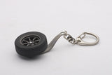 1:01 8-SPOKE WHEEL KEYCHAIN