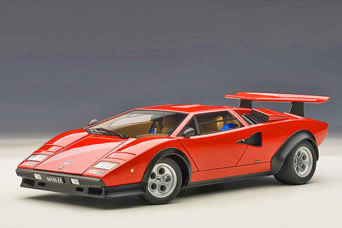 1/18 LAMBORGHINI COUNTACH LP500S W. WOLF EDITION (Red)
