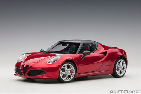 1/18 ALFA ROMEO 4C SPIDER (Competition Red)