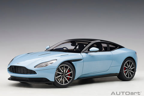 1/18 ASTON MARTIN DB11 (Q FROSTED GLASS BLUE )