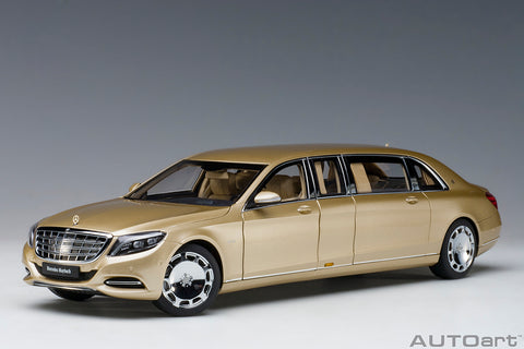 1/18 MERCEDES-MAYBACH S 600 PULLMAN (Gold)