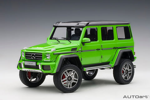 1/18 MERCEDES-BENZ G500 4X4² (Alien Green)