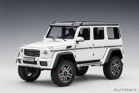 1/18 MERCEDES-BENZ G500 4X4² (Gloss White)