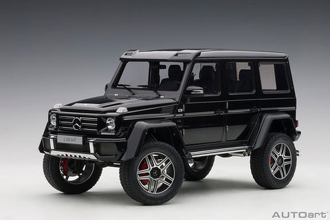 1/18 MERCEDES-BENZ G500 4X4² (Gloss Black)