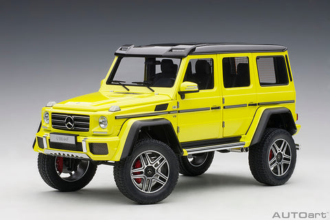 1/18 MERCEDES-BENZ G500 4X4² (Electric Beam Yellow)