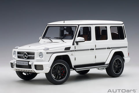 1/18 MERCEDES-AMG G63 2017 (Gloss White)