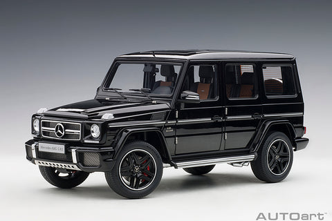 1/18 MERCEDES-AMG G63 2017 (Gloss Black)