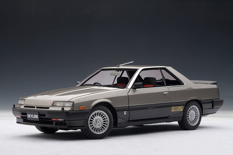 1/18 NISSAN SKYLINE (DR30) 2000 RS-X TURBO C (Metallic Grey)