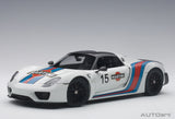 1:18 PORSCHE 918 SPYDER WEISSACH PACKAGE