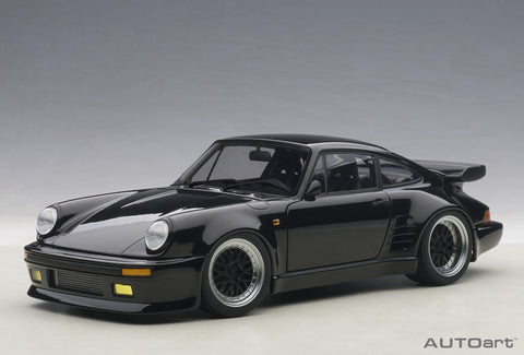 "1:18 PORSCHE 911 (930) TURBO WANGAN MIDNIGHT ""BLACK BIRD"""