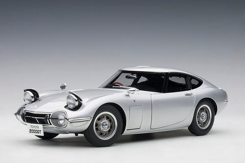 1/18 TOYOTA 2000 GT (Silver)