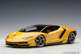 1/18 LAMBORGHINI CENTENARIO (NEW GIALLO ORION/METALLIC YELLOW)