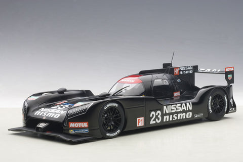 1:18 NISSAN GT-R LM NISMO 2015 TEST CAR