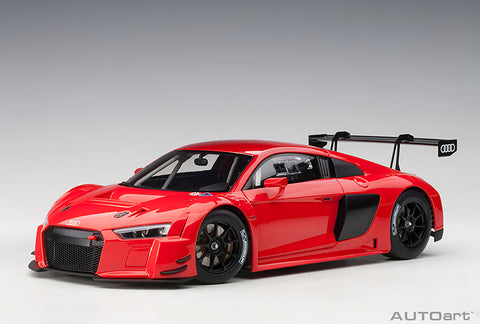 1/18 AUDI R8 LMS PLAIN COLOUR VERSION (Red)