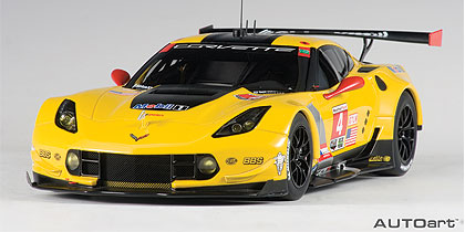 1:18 CHEVROLET CORVETTE C7-R LIME ROCK 2016