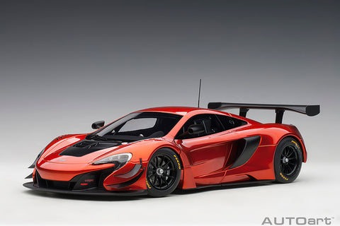 1/18 McLAREN 650S GT3 (VOLCANO ORANGE/BLACK ACCENTS)