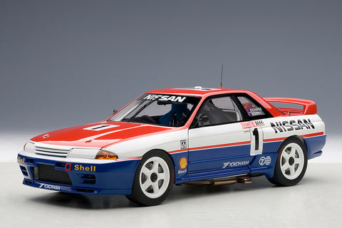 1/18 NISSAN SKYLINE GT-R 1991 BATHURST WINNER - #1 Richards / Skaife