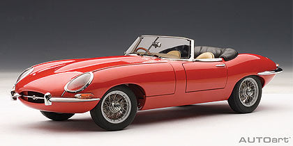 1:18 JAGUAR E-TYPE SERIES 1 ROADSTER 3.8L