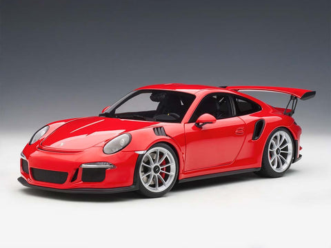 1/18 PORSCHE 911 (991) GT3 RS (Guards Red)