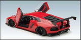 1/18 LB-WORKS LAMBORGHINI AVENTADOR (Red)