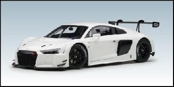 1/18 AUDI R8 LMS PLAIN COLOUR VERSION (White)