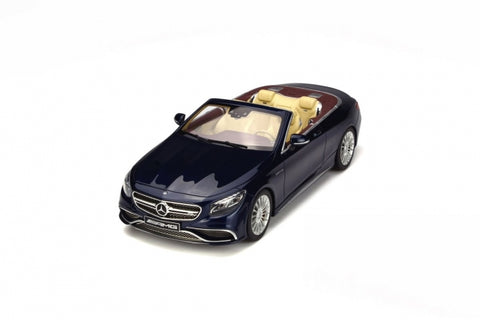 1:18 MERCEDES AMG S65 CONVERTIBLE
