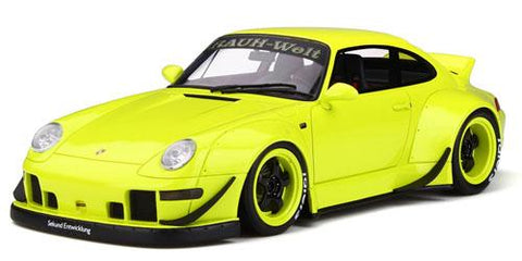 1:18 RWB 993 Duck Tail - Fluorescent Yellow - Resin Model