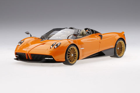 1/18 Pagani Huayra Roadster - Arancio Saint Tropez - Limited Edition 999 Pieces