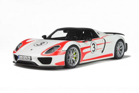 1:12 PORSCHE 918 SPYDER WEISSACH PACKAGE