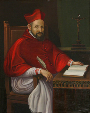 Saint Robert Bellarmine - not a man you'd want to piss of in the early 1600's