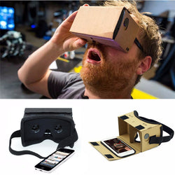 DIY Ultra Clear Google Cardboard VR BOX 2.0 Virtual Reality 3D Glasses for iPhone SmartPhone computer gafas xiaomi mi vr headset - Virtual Reality Canada