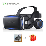 Casque Stereo Shinecon VR Box Virtual Reality Glasses 3 D 3d Goggles Headset Helmet For Smartphone Smart Phone Cardboard Google - Virtual Reality Canada