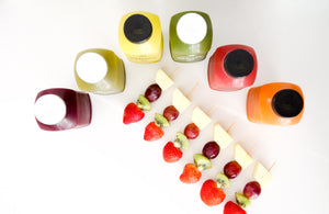 ·   Easy Pack #4  ·   6 cold press + 12 brochetas fruta