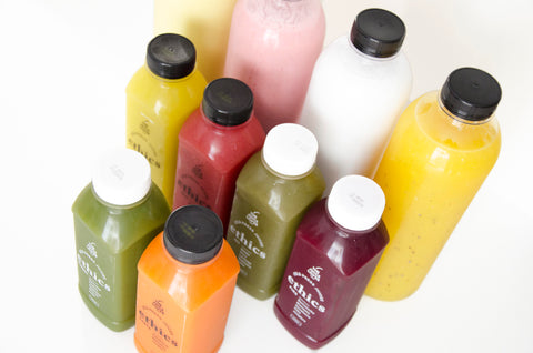 ·   Easy Pack #1  ·   6 cold press + 4 smoothies