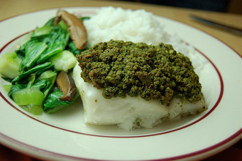 Matcha in Mealtime Entrees