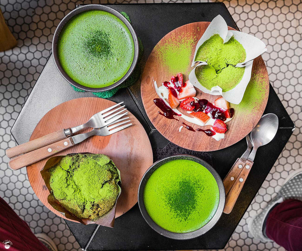Matcha in Meals and Munchies