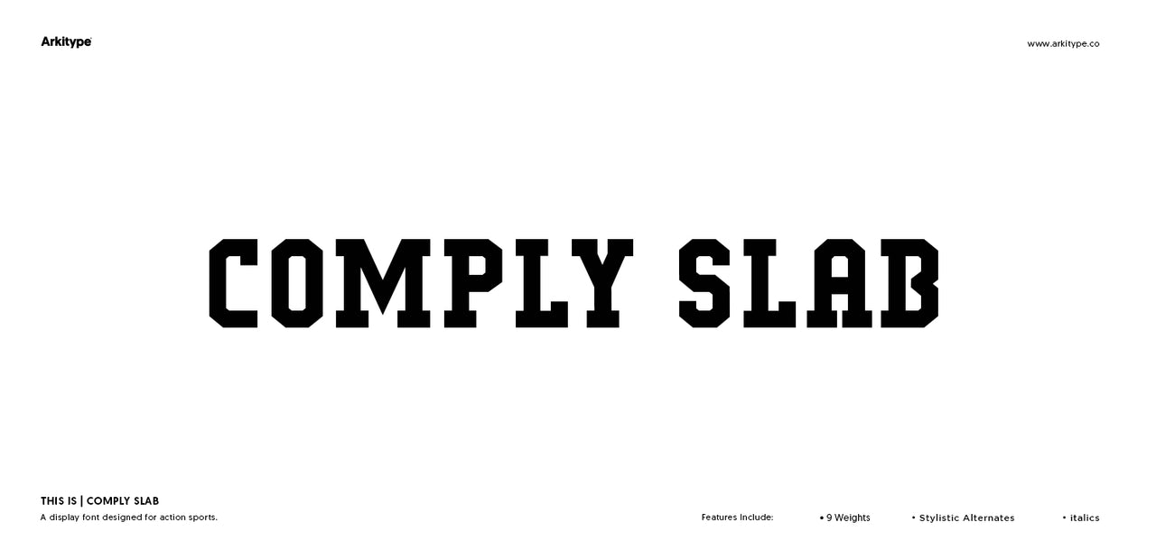 Comply Slab - Web