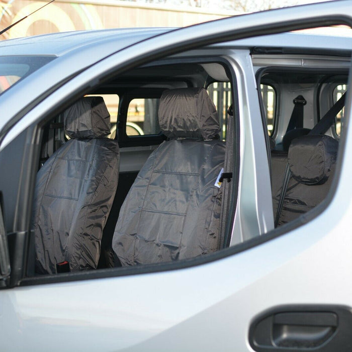 INKA Front 1+1 Fully Tailored Waterproof Seat Covers - to fit Nissan E-NV200 2014+